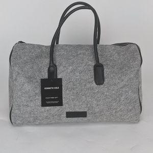 Kenneth Cole Unisex Duffle Bag gray travel bag
